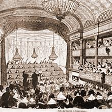パリ音楽院大ホール